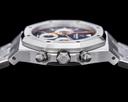 Audemars Piguet Royal Oak 26300ST Chronograph SS Blue & Orange SHARP Ref. 26300ST.OO.1110ST.07