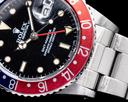 Rolex GMT Master 16750 SS Pepsi Bezel Ref. 16750