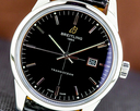 Breitling Transocean Automatic SS / Black Dial SS Deployant Buckle Ref. A10360