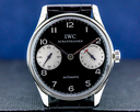 IWC Portuguese 7 Day Automatic SS Black Dial Ref. 5000-01