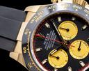Rolex Daytona 116518LN Black Dial 18K Yellow Gold / Rubber 2019 Ref. 116518LN