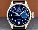 IWC Big Pilot LE PETIT PRINCE Blue Dial Ref. IW501002
