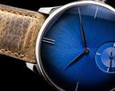 H. Moser & Cie Venturer Purity Blue Fume Dial 18k WG Small Seconds Ref. 2327-0207