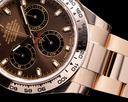 Rolex Daytona Everose Chocolate Dial 18K RG 2021 UNWORN Ref. 116505