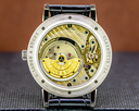 A. Lange and Sohne Grand Saxonia 307.029 Automatik 18K White Gold / Black Dial UNWORN Ref. 307.029