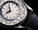 Patek Philippe World Time 5110G 18K White Gold FULL SET Ref. 5110G-001