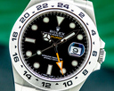 Rolex Explorer II Black Dial SS 2021 Ref. 216570