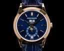 Patek Philippe Annual Calendar 5396R Rose Gold Blue Dial 2021 Ref. 5396R-014