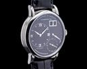 A. Lange and Sohne Kleine Little Lange 1 Platinum Black Dial 36MM RARE Ref. 111.035