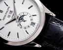 Patek Philippe Annual Calendar 5396G Silver Dial 18K White Gold Ref. 5396G-011