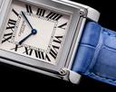 Cartier Privee Collection Tank a Vis CPCP W1539951 Platinum RARE Ref. W1539951P