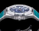 Audemars Piguet Royal Oak BLUE Dial 15300ST SS AP SERVICED Ref. 15300ST.OO.1220ST.02