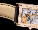 Cartier Privee Collection Tank a Vis W1537651 Dual Time 18k Rose Gold RARE Ref. W1537651