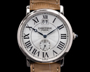 Cartier Cartier Privee Rotonde Large Date 18K White Gold Ref. W1550751