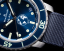 Blancpain Fifty Fathoms Ocean Commitment III Limited Edition Blue Dial Ref. 5008-11B-NAOA