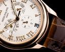 Patek Philippe Annual Calendar 5035R 18K Rose Gold Silver Dial Ref. 5035R-001