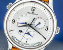 Jaeger LeCoultre Master Control Geographic SS Silver Dial NEW MODEL UNWORN Ref. Q4128420