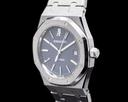 Audemars Piguet Royal Oak BLUE Dial 15300ST SS FULL SET Ref. 15300ST.OO.1220ST.02