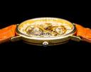 Vacheron Constantin Skeletonized 18K Yellow Gold ENGRAVED DIAL 31MM Ref. 36004 J