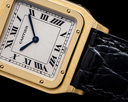 Cartier 1575 Santos Dumont Extra-Plate 18k Yellow Gold Manual Ref. 1575