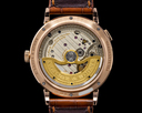 A. Lange and Sohne Saxonia 381.031 Outsize Date 18K Rose Gold / Black Dial Ref. 381.031