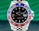 Rolex GMT Master II Ceramic 126710 Pepsi SS / Jubilee 2021 UNWORN Ref. 126710BLRO
