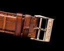 A. Lange and Sohne Double 404.032 Split Silver Dial Rose Gold 18K FULL SET Ref. 404.032