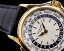 Patek Philippe World Time 5110J 18K Yellow Gold FULL SET PATINA Ref. 5110J-001