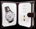 Patek Philippe Perpetual Calendar Split 5004P Platinum / Black Diamond Dial RARE Ref. 5004P-033