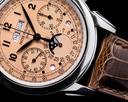 Patek Philippe 5270P Perpetual Calendar Chronograph Platinum Salmon Dial Ref. 5270P-001