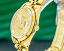 Rolex Date 34 14K Yellow Gold Jubilee / Champagne Dial CHEVY EMBLEM Ref. 15007