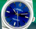 Rolex Oyster Perpetual 114300 SS Blue Dial Ref. 114300