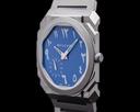 Bulgari Octo Finissimo Extra Thin Titanium Blue ARABIC DIAL Ref. 103301