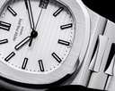 Patek Philippe Jumbo Nautilus 5711 White Dial SS FULL SET UNWORN Ref. 5711/1A-011