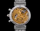 IWC Da Vinci Tourbillon 3752 Perpetual Chronograph Blue Dial Platinum / Brac Ref. IW375211