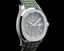 Patek Philippe Aquanaut 5267 Luce Khaki Green Dial / Diamond Bezel UNWORN Ref. 5267/200A